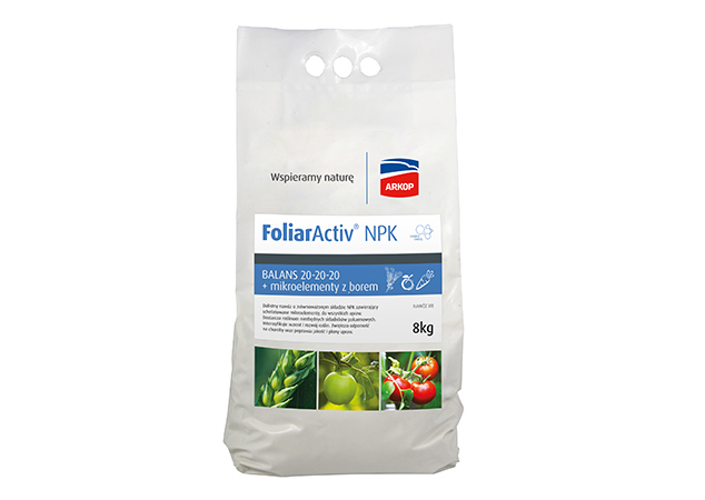 FoliarActiv Balans 20-20-20 + mikro z borem