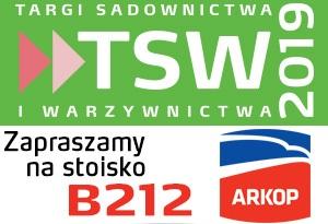 Targi sadownictwa i warzywnictwa TSW 2019